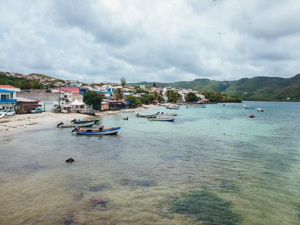 Le port de Sainte-Luce, Martinique