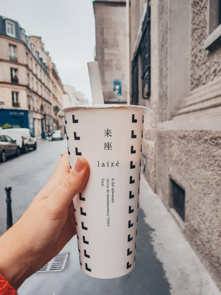 Bubble Tea Laïze Paris