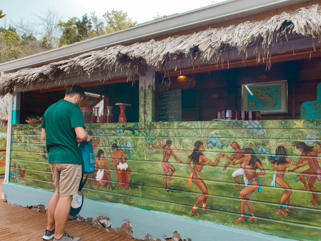 Savane des esclaves, Martinique