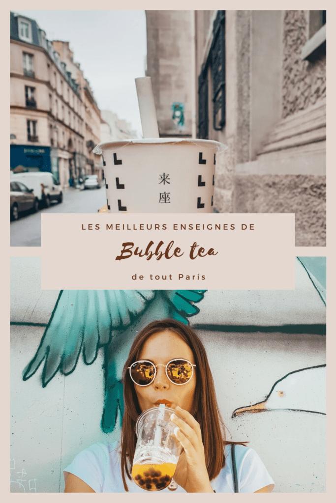 L'une de mes premières quêtes quand je suis arrivée à Paris, retrouver des bubble tea tels que je les avais connu à Taïwan. Je vous présente à travers cet article, mes recettes préférées et mes endroits favoris pour trouver les meilleurs bubble tea de Paris.