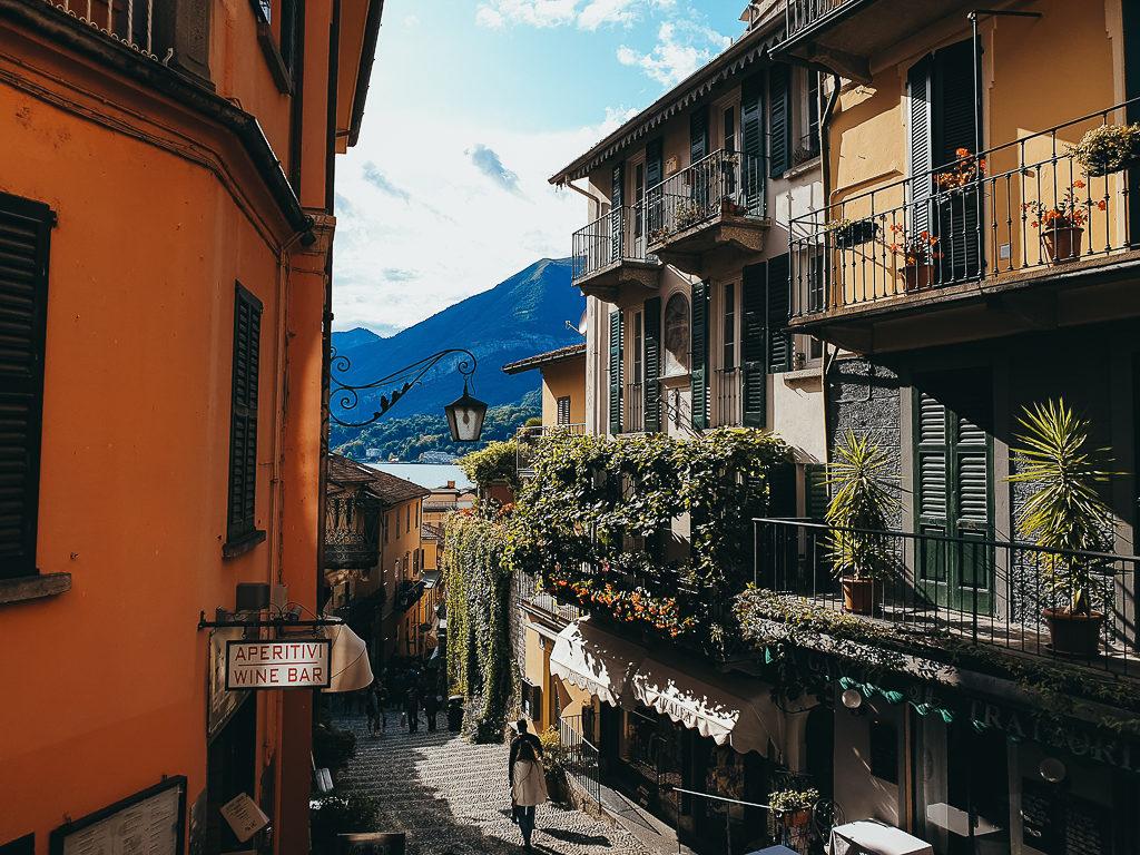 La jolie ville de Bellagio