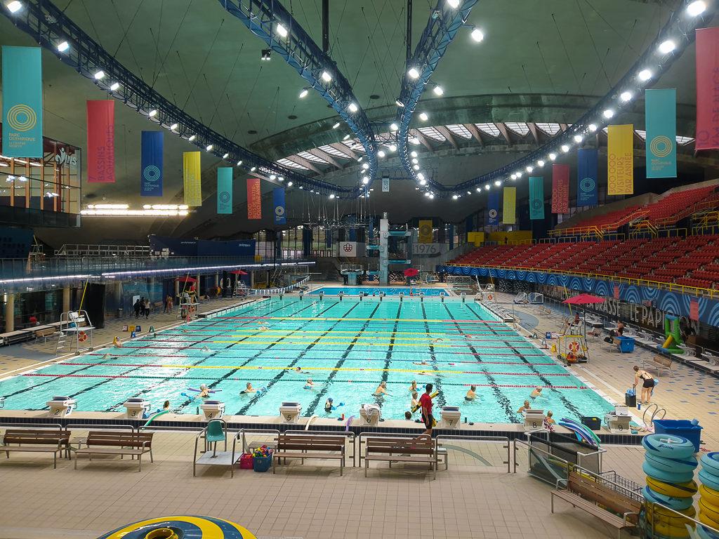Piscine olympique Montréal