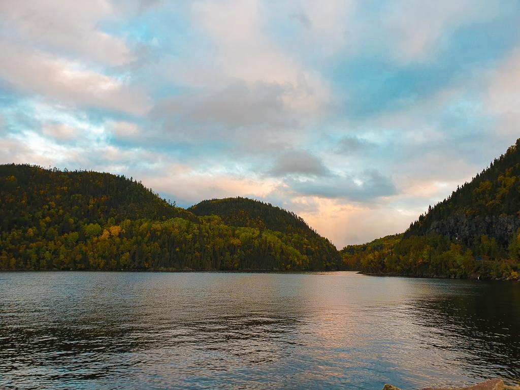 Fjord du Saguenay depuis Petit-Saguenay