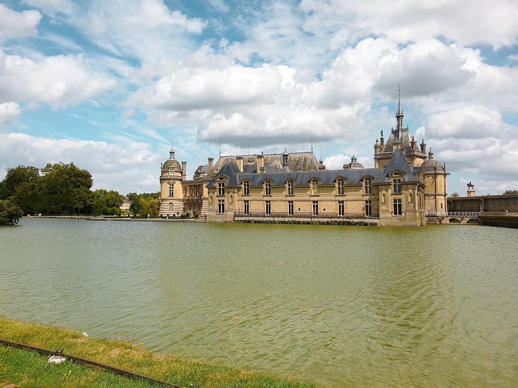 vue château Chantilly
