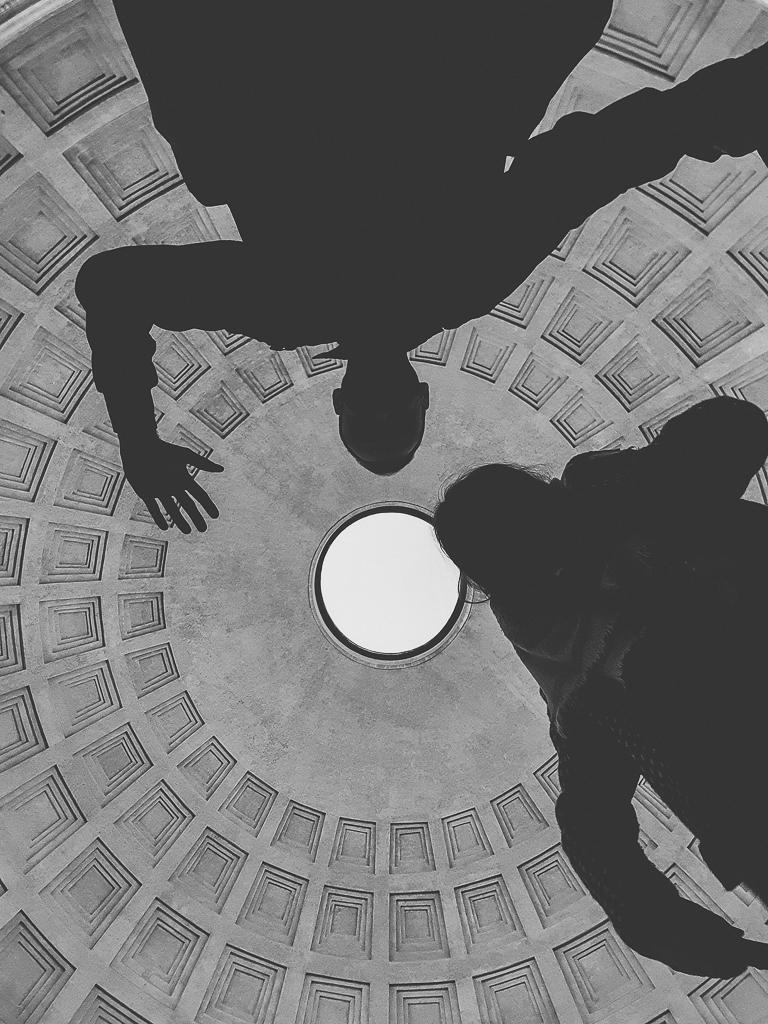 Oculus du Pantheon, Rome