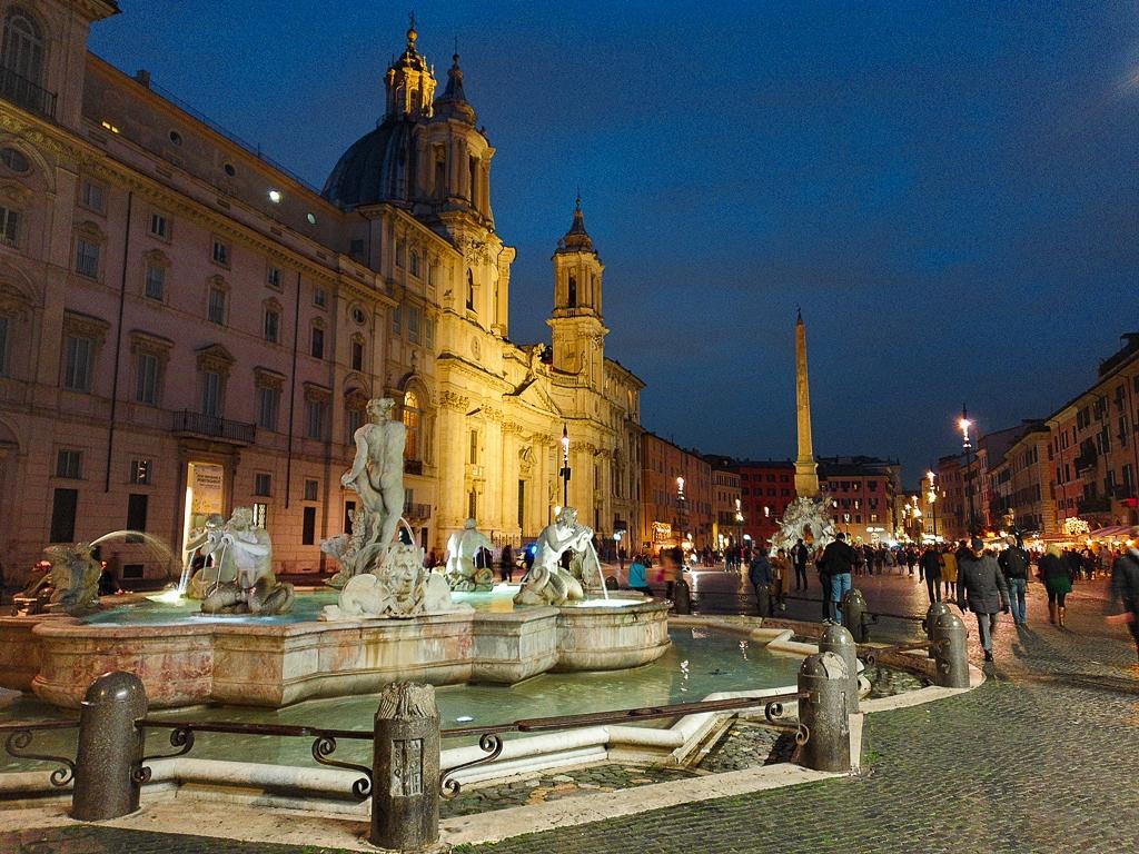 Piazza Navona, visiter Rome