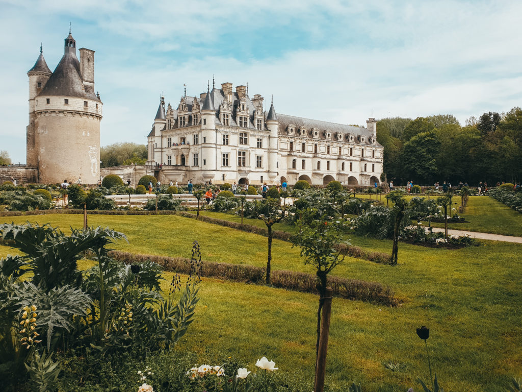 Chenonceau : Itinéraire sur les routes des châteaux de la Loire