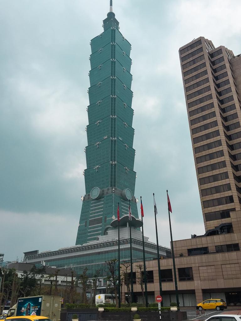 Taipei 101, tour à Taiwan