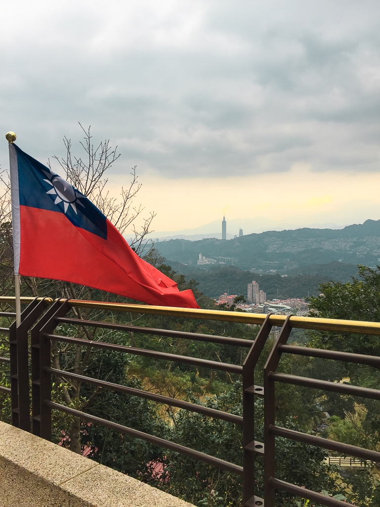 Vue sur Taipei, voyage Taiwan