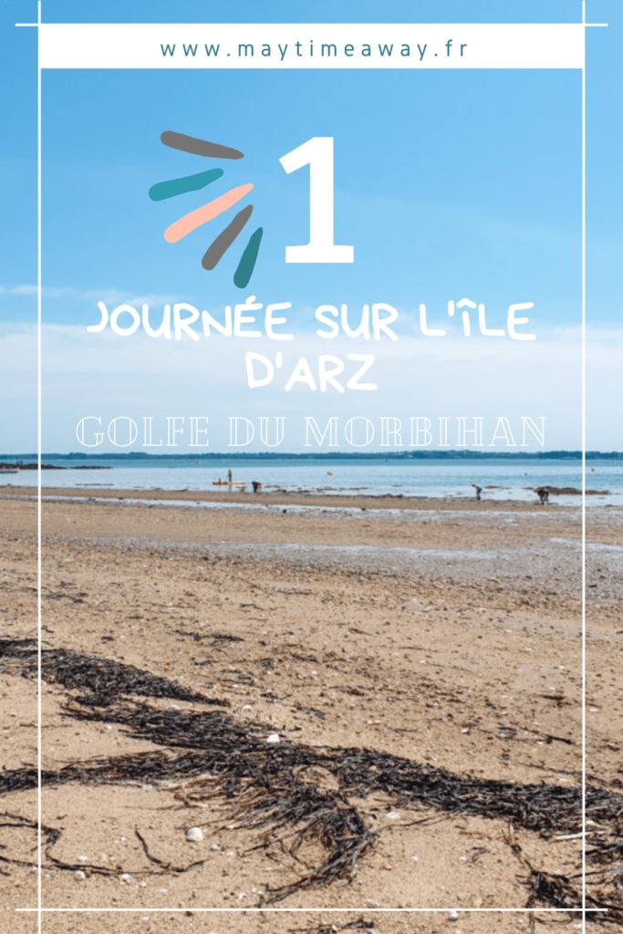 De passage en Bretagne nous avons décidé d'explorer le Golfe du Morbihan, à proximité de Vannes : l'île d'Arz est parfaite pour une petite journée hors du temps. Elle se parcourt à pied ou à vélo, longeant les plages, les petites maisons du centre-ville avec toujours la vue sur le Golfe du Morbihan. L'île d'Arz s'explore depuis Vannes ou Séné en bateau ou navette maritime. Visiter la Bretagne / Week-end Bretagne / Tourisme Golfe du Morbihan/ Journée Île d'Arz. #golfemorbihan #morbihan #bretagne