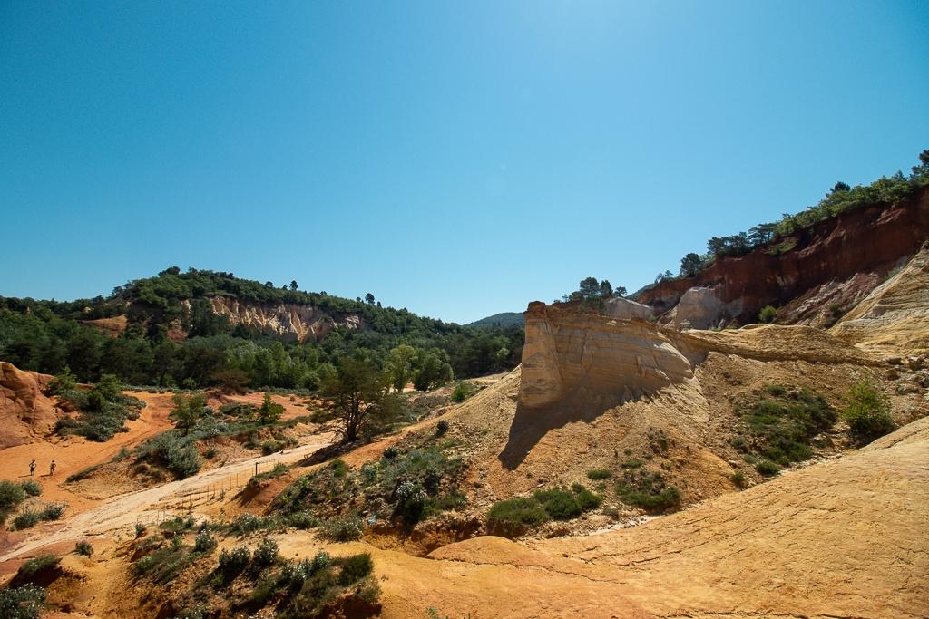 Colorado Provencal de Rustrel : les ocres