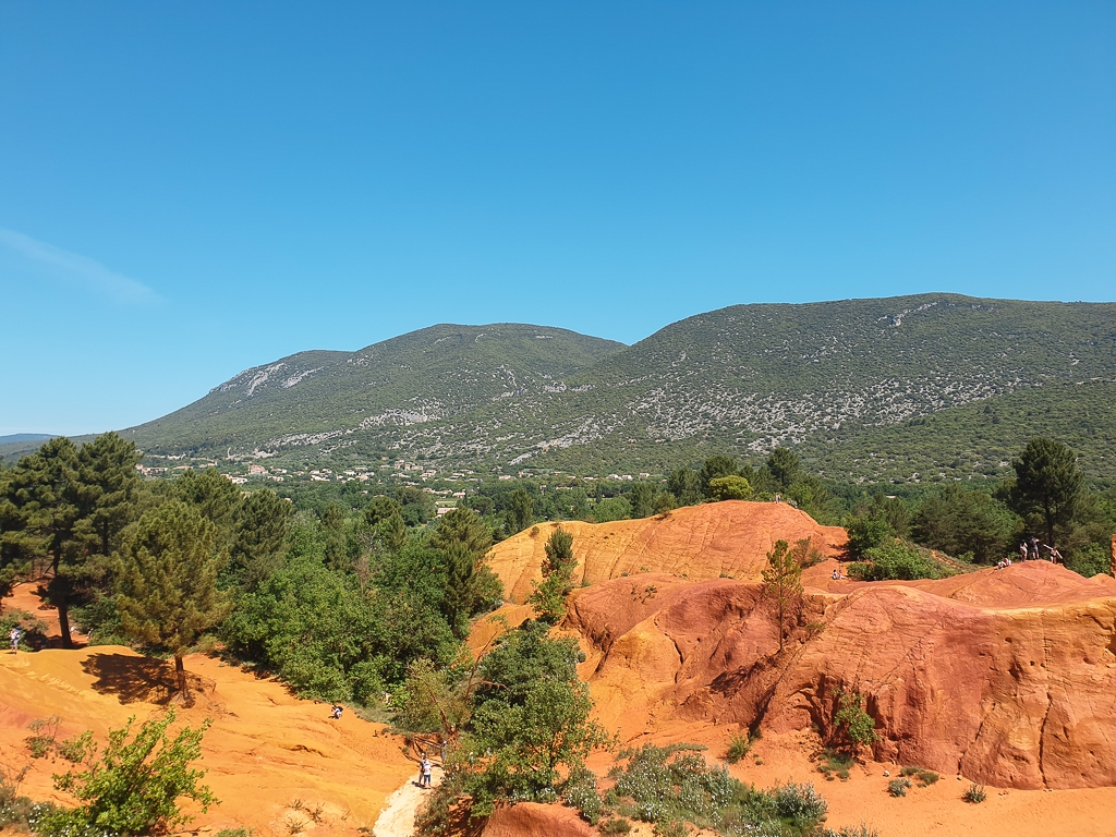 Colorado Provençal - site naturel incroyable en Provence