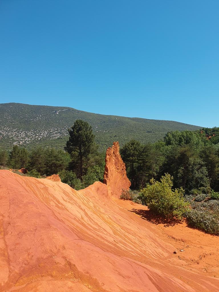 Paysage du Colorado Provençal de Rustrel