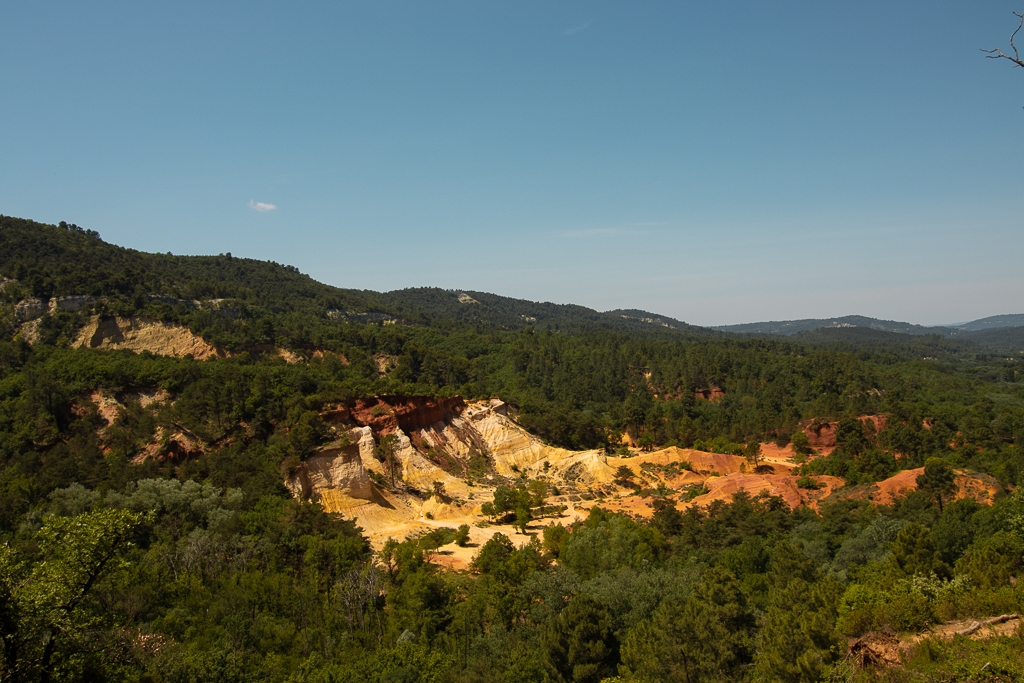 Colorado Provencal de Rustrel : panorama d'exception