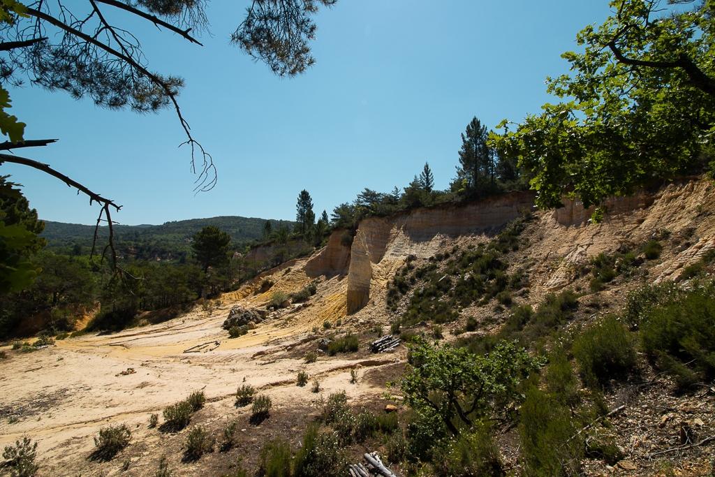 Colorado Provencal : le Sahara