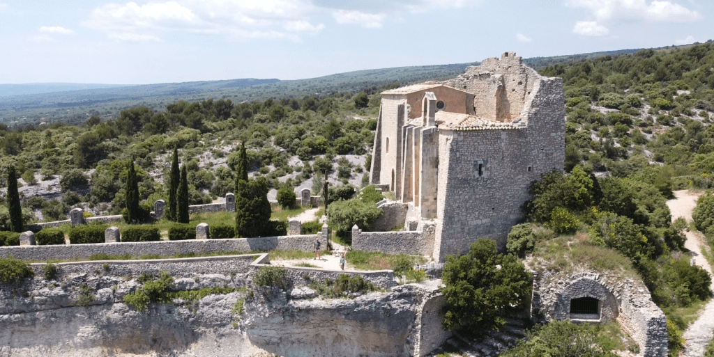 Vue sur La Chapelle de Saint-Saturnin-Lès-Apt