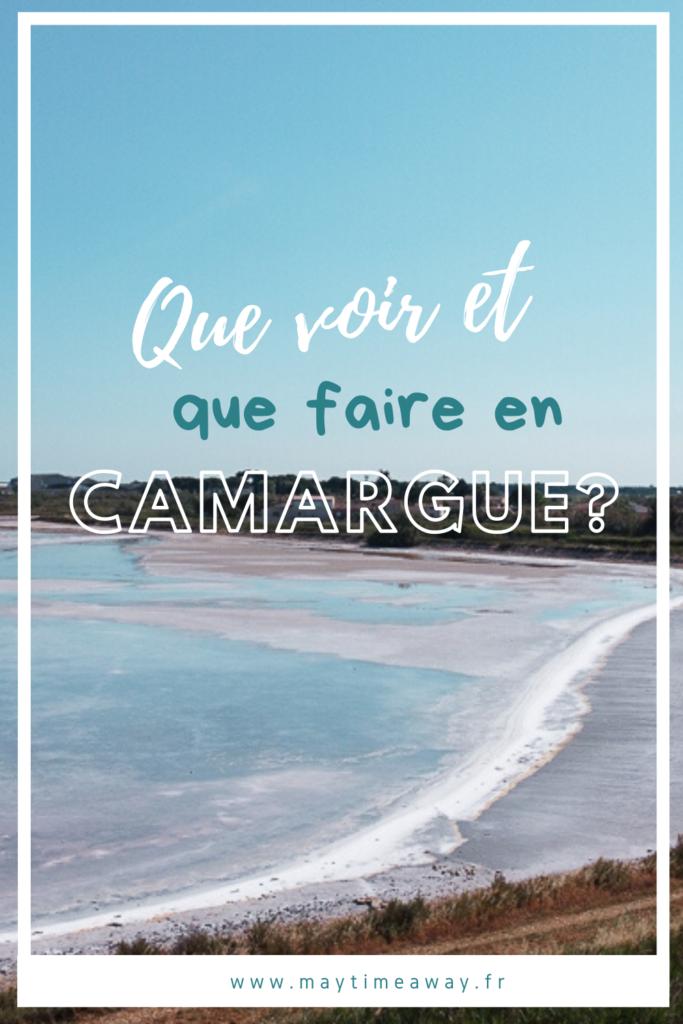 La Camargue est un territoire singulier du Sud de la France offrant des paysages et une faune incroyables (taureaux, chevaux sauvages, flamants roses ...). Je vous propose ici un guide de visite, si vous vous demandez que faire et que voir en Camargue. Suivez mes conseils pratiques pour découvrir la Camargue, je vous présente le top 10 des activités à faire en Camargue (visiter ses plages, sa capitale Sainte-Marie-de-la-Mer ou encore Aigues-Mortes et ses salins).#camargue #visitcamargue #nature