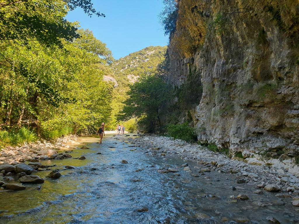 Balade Gorges du Toulourenc