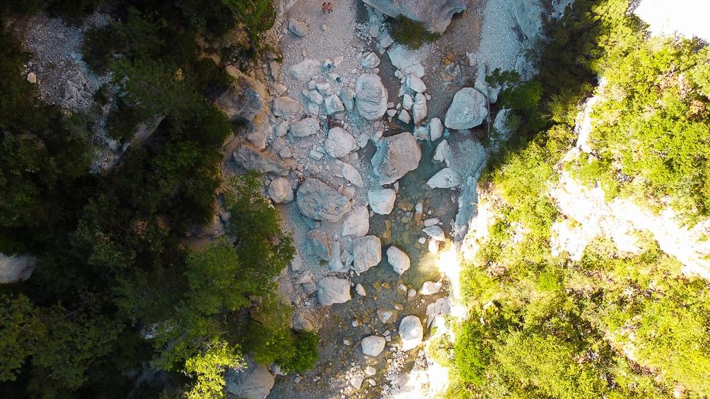Gorges du Toulourenc vue d'en haut
