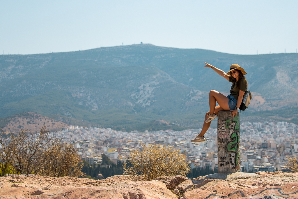 Athènes : Colline Filoppapos