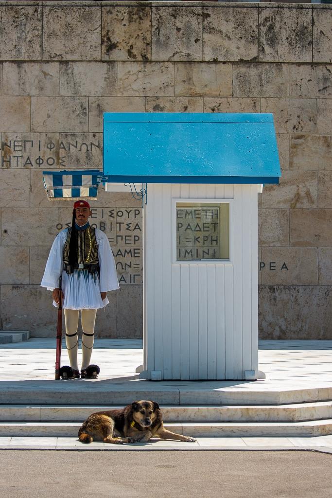 Visite d'Athènes : Parlement
