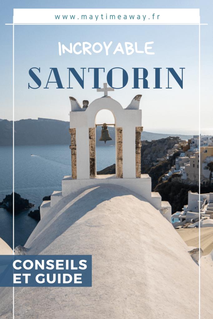 Lors de notre séjour en Grèce, dans l'archipel des Cyclades, nous avons visiter l'incroyable île de Santorin ! Santorin c'est des hôtels qui font rêver, des paysages à couper le souffle, les villages d'Oia et Fira mythiques et des couchers de soleil magnifiques. Que vous y passiez un week-end ou plus, vous n'allez pas vous ennuyer. Je vous propose dans mon article, tous les conseils et incontournables pour Visiter Santorin ainsi que les plus belles photos de notre voyage. #santorin #santorini