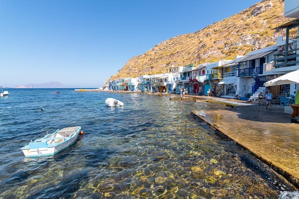 Village de Klima, île de Milos