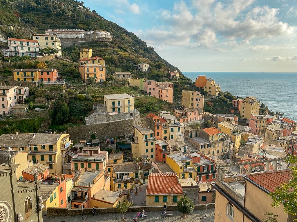 riomaggiore cinq terres italie