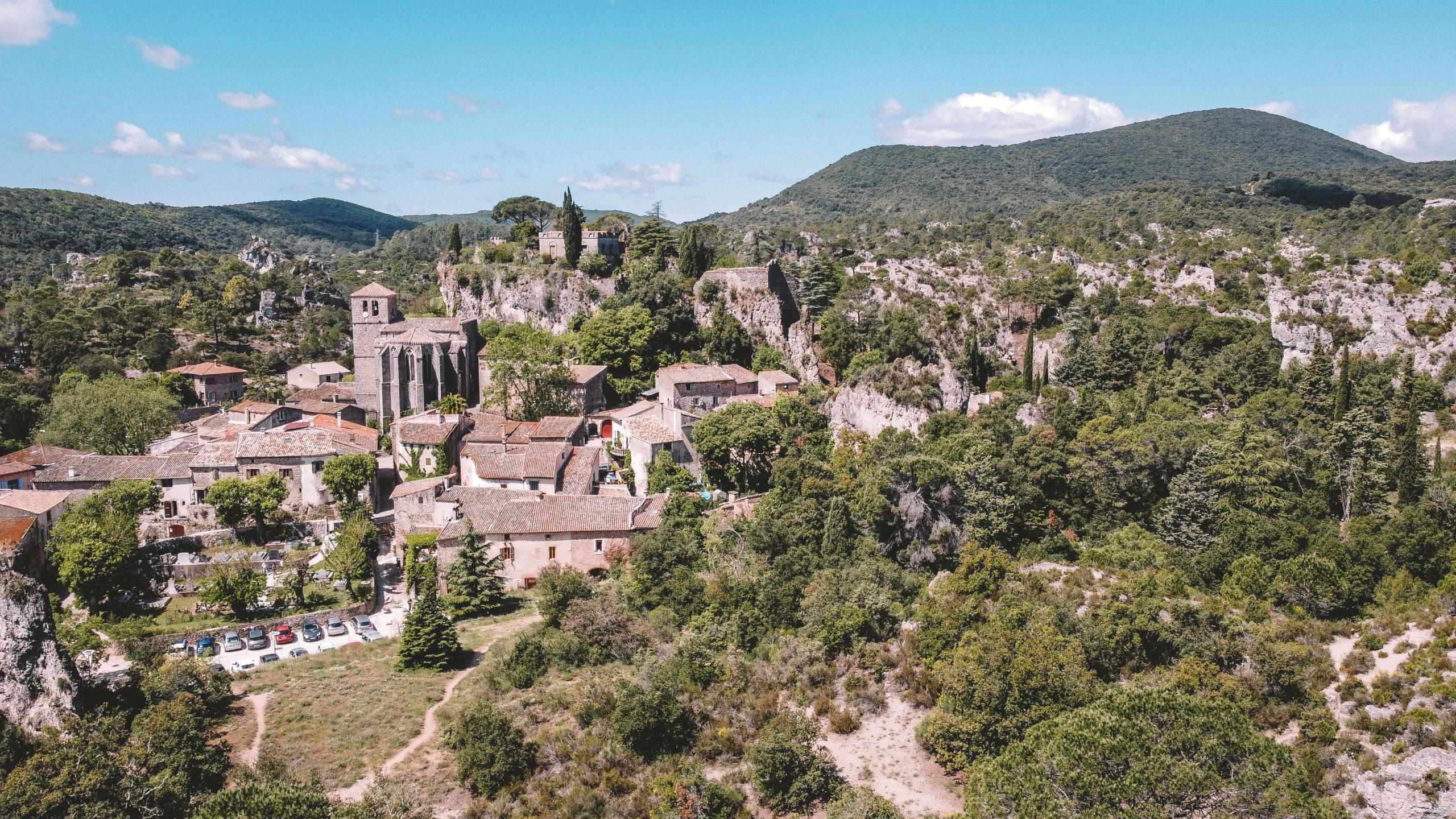 Cirque de Mourèze : le village
